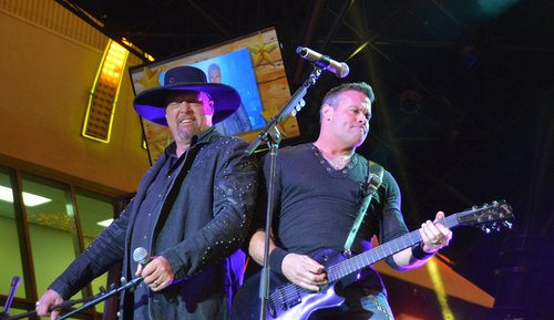 Montgomery Gentry Performs Together