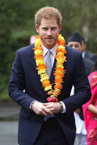 Prince Harry attends a ceremony to celebrate the bicentenary of relations between the UK and Nepal at Embassy of Nepal on March 20, 2017 in London