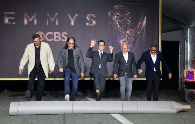 The Primetime Emmy Awards ceremony will be airing on CBS on Sunday, Sept. 17, hosted by Stephen Colbert.