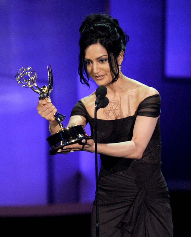 It was in 2010, when Archie Panjabi won the award for Outstanding Supporting Actress in a Drama Series for her role as Kalinda Sharma on CBS's The Good Wife.