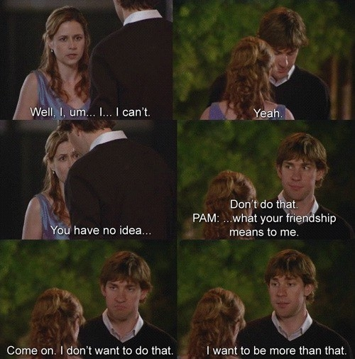 If you're here right now, it's because you experienced the emotional torture that was Jim and Pam before they got together.