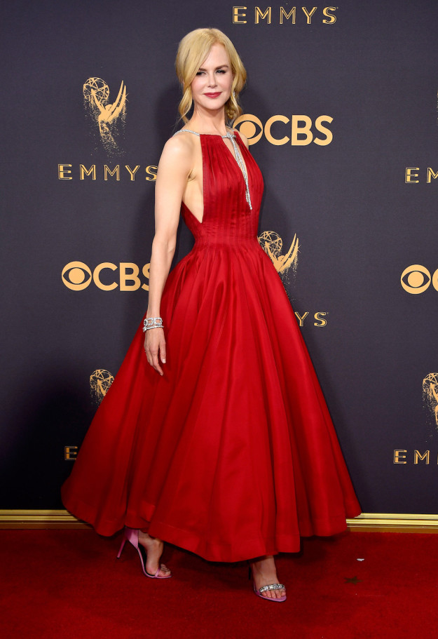 Nicole Kidman won her first Emmy on Sunday (Sept. 17) for her role as Celeste on HBO's Big Little Lies.