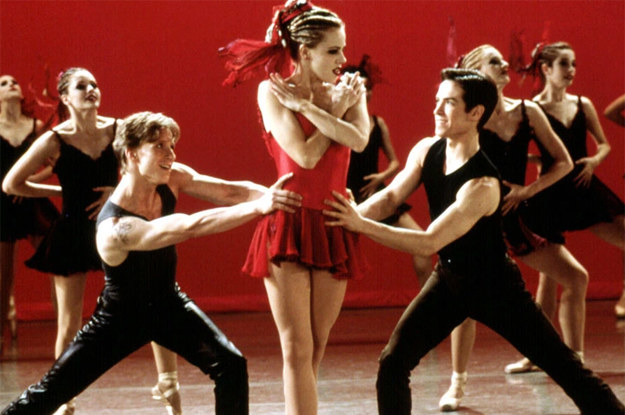 Anyone who has ever seen Center Stage knows that it is the most perfect film ever made, called it infinity no takebacks.