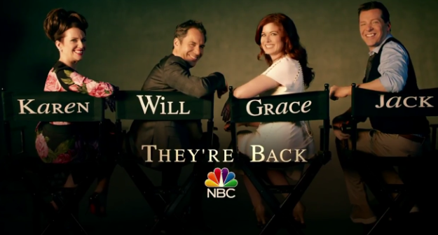 In case you didn't know — Will & Grace is coming back! New episodes premiere September 28, 2017 on NBC.