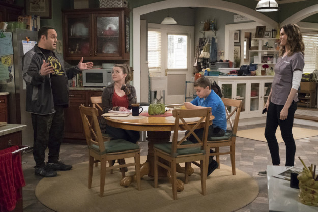 Then, in August, CBS's senior executive vice president of programming, Thom Sherman, revealed that Hayes' character would be killed off the show and there would be a time jump to show Kevin, the character, adjusting to life as a single dad.