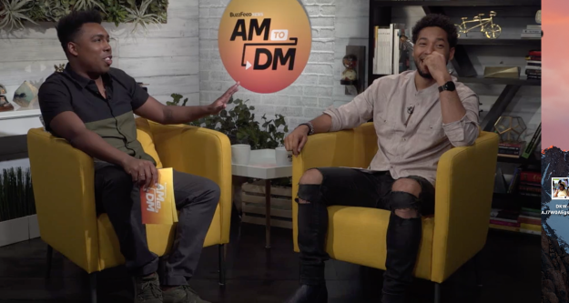 Jussie Smollett, aka Jamal Lyon on Fox's Empire, stopped by BuzzFeed News' morning show AM to DM on Wednesday to chat about the show's upcoming fourth season.