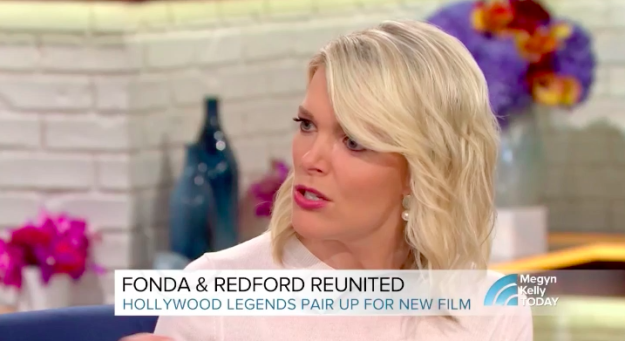 Fonda and Redford were there to talk about their new Netflix movie, Our Souls at Night. But for some reason, Megyn decided to ask Jane about her plastic surgery instead.