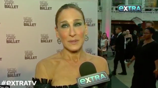 While SJP seemed a bit ~frustrated~ in the interview, she didn't reveal the reasons why the project had been scrapped.