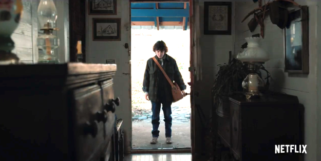 Now, let's take a look at where Eleven is standing in the new Season 2 trailer.