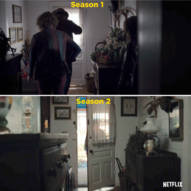 It's the same house!!!!!!!!!
