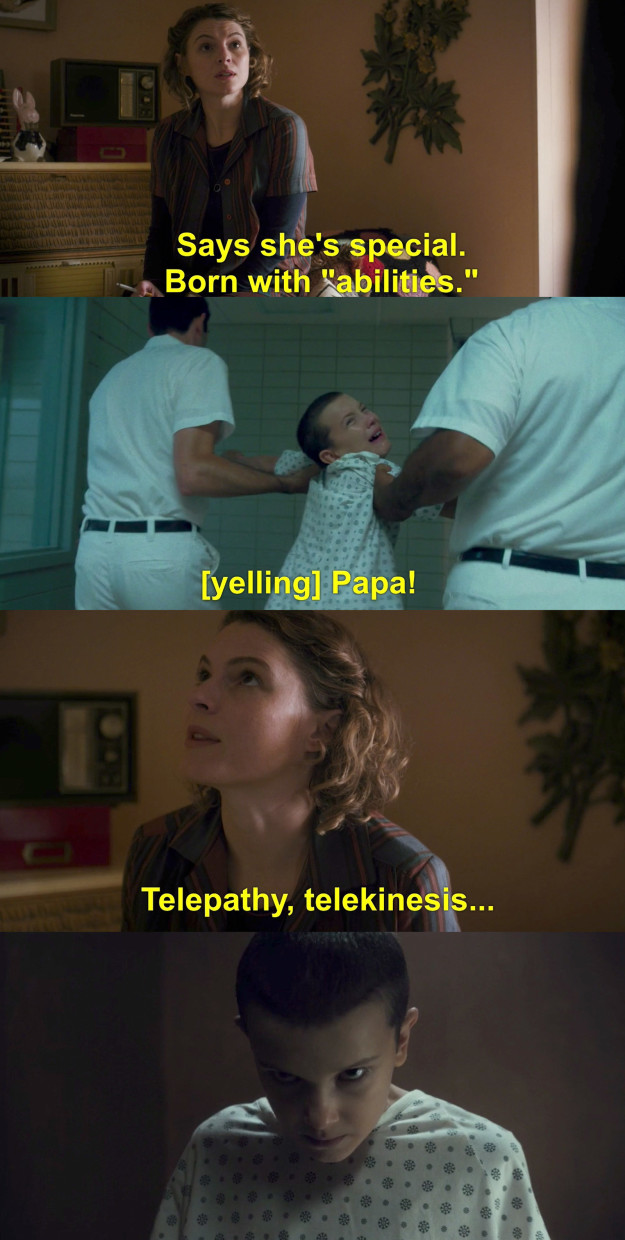 Then we saw flashbacks of Eleven using her abilities, confirming that Jane is alive and actually Eleven.