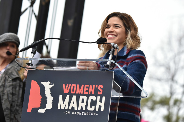 This is far from the first time the Superstore actor has used her platform to speak out about women's rights. She had a leading role at the Women's March in Washington D.C. in January and campaigned for Hillary Clinton during the presidential election.