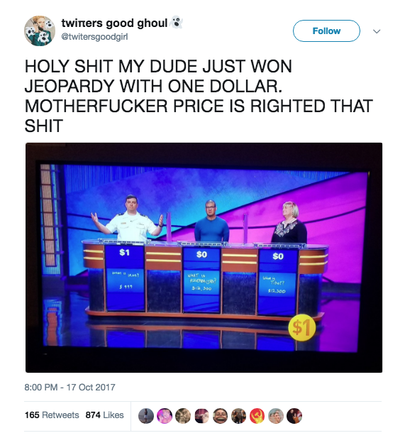 Anyway, viewers had a lot of thoughts on Manny and his near-loss. Some drew some comparisons between the show and Price is Right.