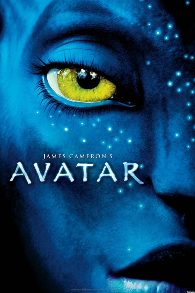 No, not the beloved stationery store, but the font. Particularly, its use in the film Avatar.