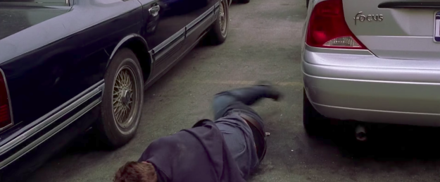 """In Spider-Man 2, Peter said he needs """"strong focus"""" before falling and landing on a Ford Focus."""