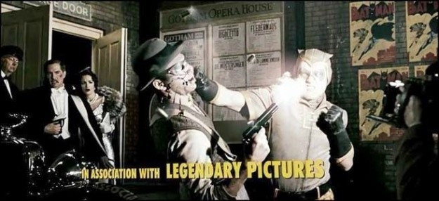 During the intro to Watchmen, a young Night Owl foils an armed robbery outside of the Gotham Opera House. Can you think of a notable Gotham City resident who loses his parents to an armed robbery after seeing the opera?