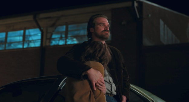 It's safe to say that when it first came to light Joyce would have a romantic interest this season who wasn't Jim Hopper, Hawkins' chief of police, no one was happy.
