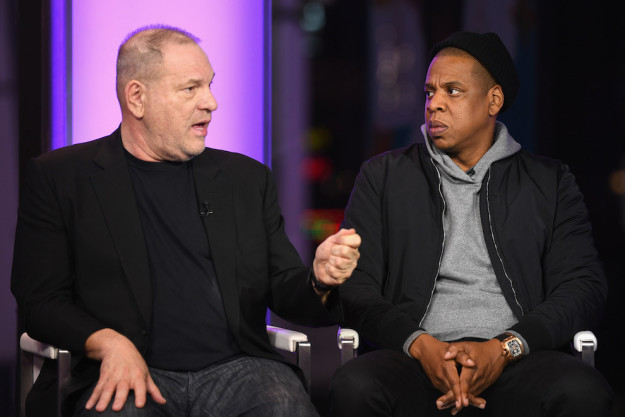 "In the statement, Weinstein quotes his producing partner, Jay-Z. ""Jay Z wrote in 4:44 'I'm not the man I thought I was and I better be that man for my children.' The same is true for me."""