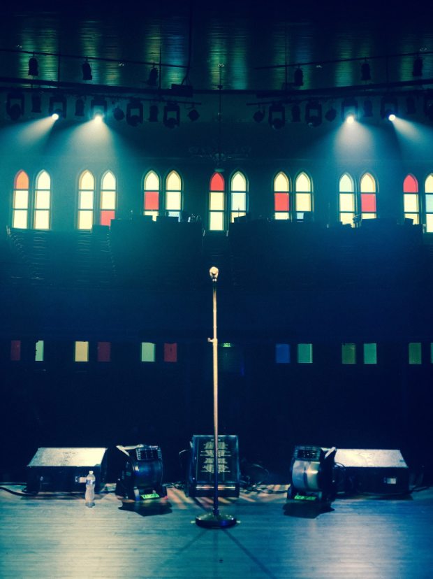 I've dreamed of playing the Ryman Auditorium in Nashville my whole life. It's the mother church of music and it was an honor to headline my first show there. It was beautifully overwhelming because I know Bob Dylan, Neil Young, Hank Williams, and many other legends have walked on the wood planks of that stage.