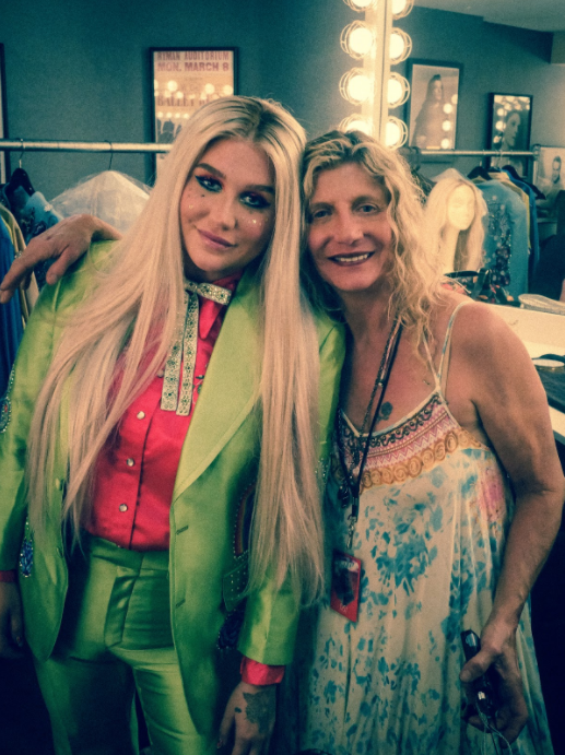 """My mom came out onto stage with me for the first few shows of the Rainbow tour to help me sing the song """"Godzilla,"""" which she wrote with me. We wrote a big portion of my new record together and she is the one who taught me how to write songs when I was a kid. She always believed in me, which I'm so grateful for."""