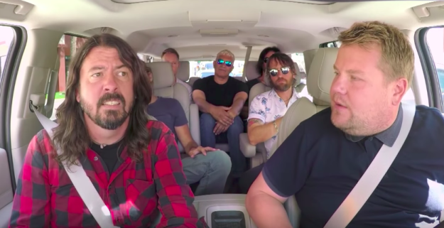 """""""By hour three in [the] dude's car, it got less fun,"""" the band's guitarist, Pat Smear, revealed to NME in an interview."""