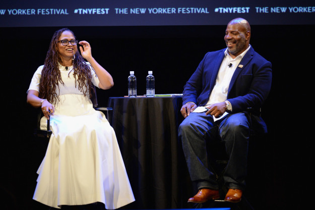 As part of the New Yorker Festival this past weekend, filmmaker Ava DuVernay sat down with Jelani Cobb to talk about their friendship, criminal justice reform, and navigating Hollywood as a black woman in charge.