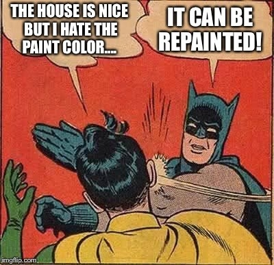When the house hunters CAN'T look past an easily fixed cosmetic thing: