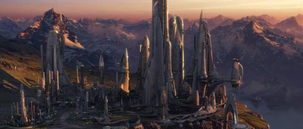 Seeing Alderaan pre-destruction.
