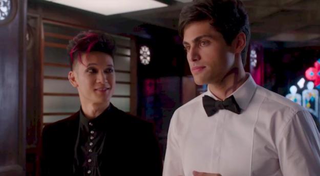 Magnus and Alec (Shadowhunters)