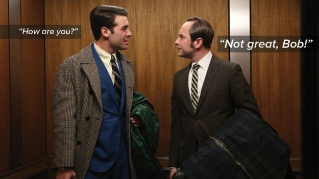 What about Mad Men? That's just 9.1 eight-hour workdays of pretending to work, or 3.0 straight days of doing nothing but staring at a bunch of suits.