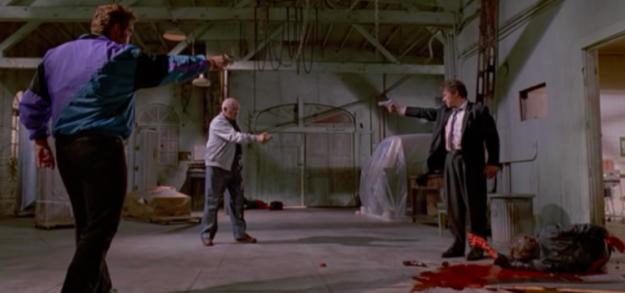 No one shoots Nice Guy Eddie in Reservoir Dogs.