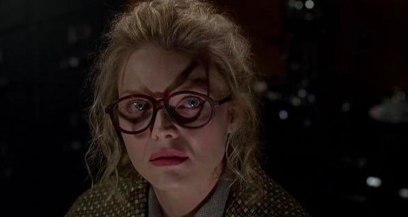 In Batman Returns, Selena Kyle's glasses literally foreshadow her future as Catwoman.