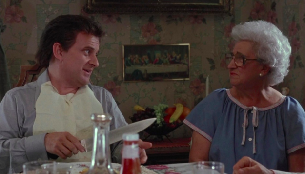 Tommy's mom was played by Martin Scorsese's mom in Goodfellas.