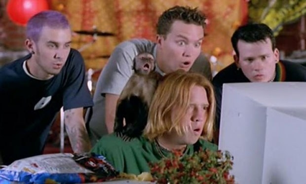 Blink 182 makes an appearance American Pie.