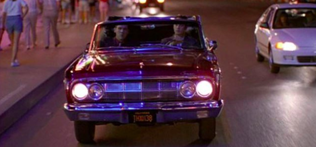 The license plate on Trent's car in Swingers is a shoutout to George Lucas.