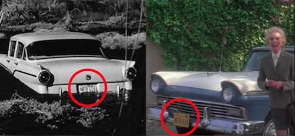 Not only does Janet Leigh show up in Halloween: H20, but she drives the same car from Psycho.