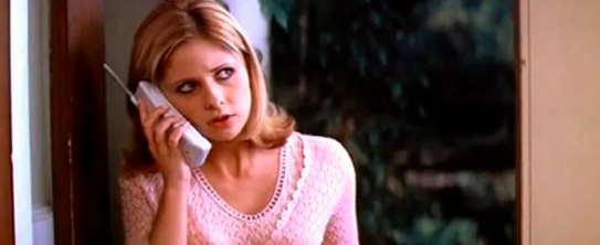 Sarah Michelle Gellar is killed in Scream 2 right after discussing Party of Five.