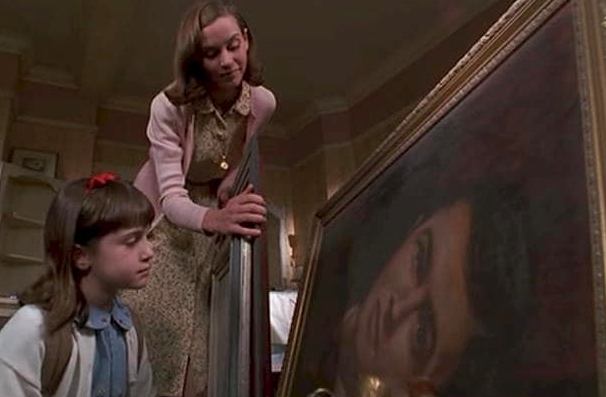 The painting in Matilda is of Roald Dahl.