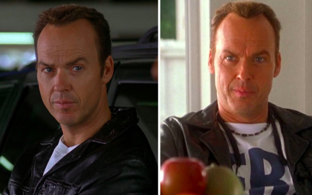 Michael Keaton plays the same character in Jackie Brown and Out of Sight.
