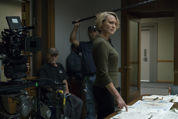 Netflix's House of Cards resumed production on Wednesday for its sixth and final season — and the first without former star Kevin Spacey, who was booted from the show due to sexual misconduct allegations.