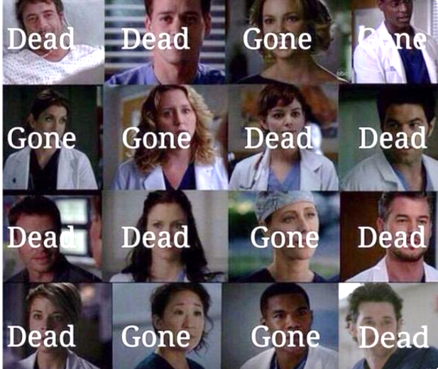 If you're a Grey's Anatomy fan, you know a thing or two about loss by now: