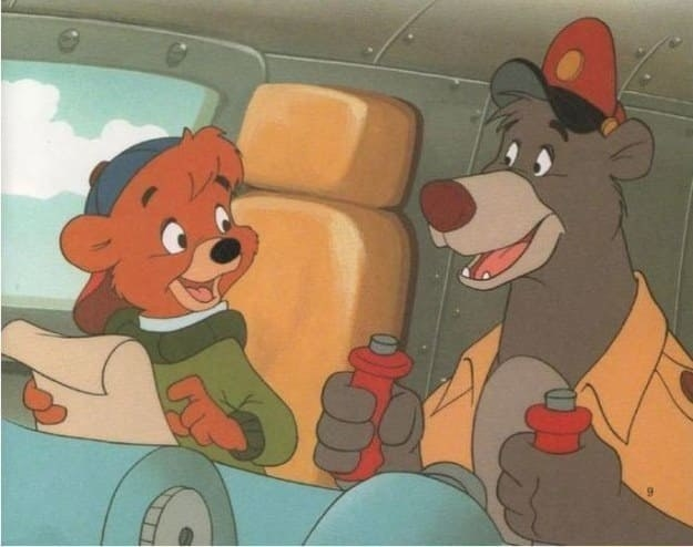 Which is the same age as TaleSpin!