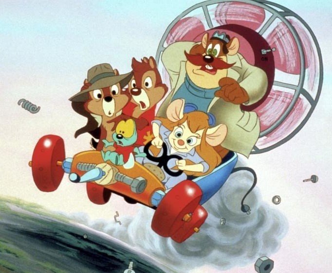 Chip 'n Dale: Rescue Rangers is only a little older — 29 years old.