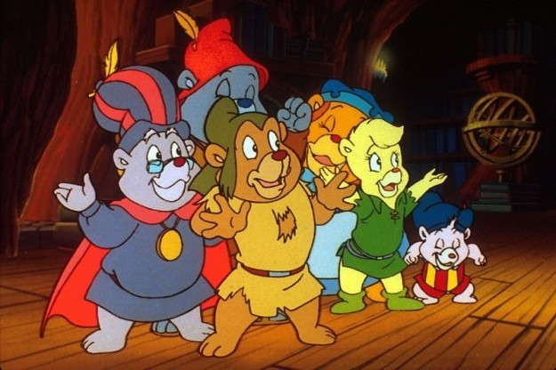 And finally, if Disney's Adventures of the Gummi Bears were a person, they'd would be 33 years old and probably saving for retirement.